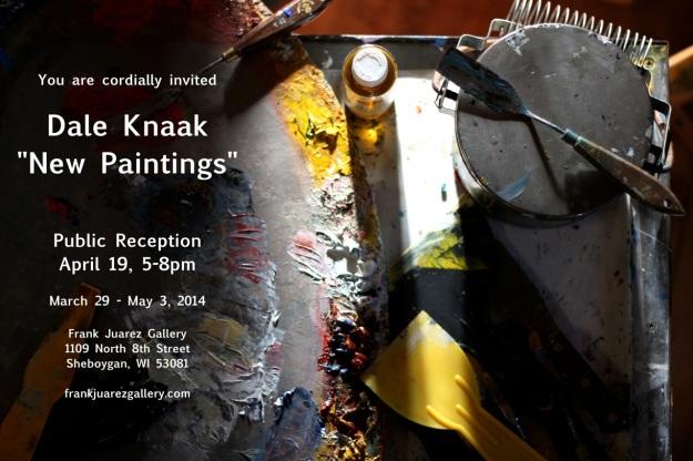 Dale Knaak Public Reception Frank Juarez Gallery