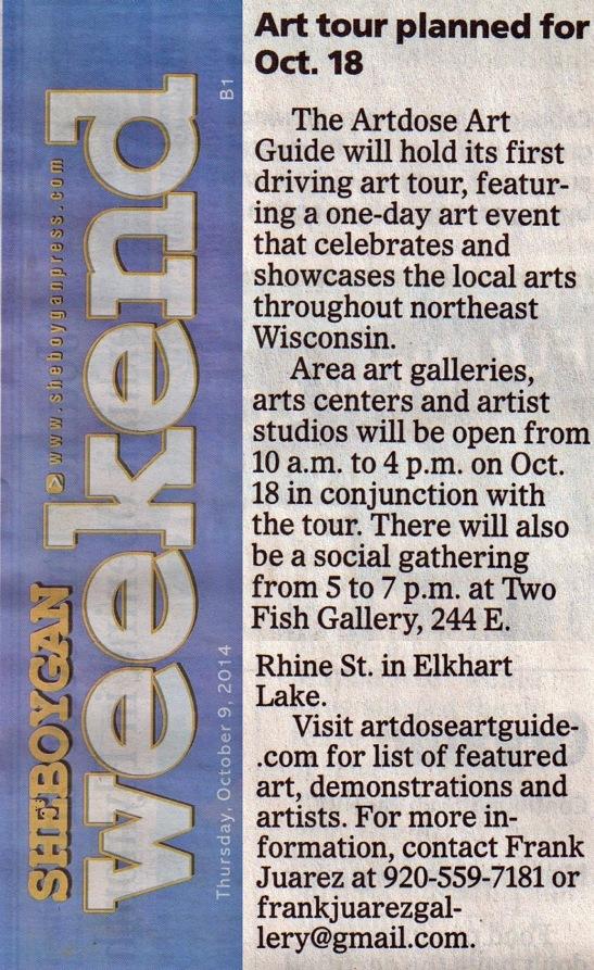 artdose art tour sheb press