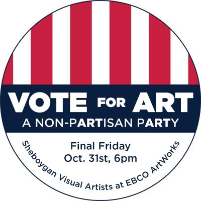 Vote for Art button