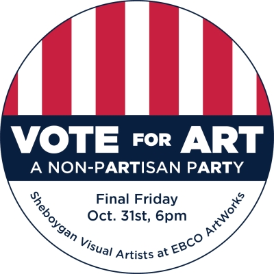 Vote for Art button