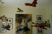 east gallery ceiling