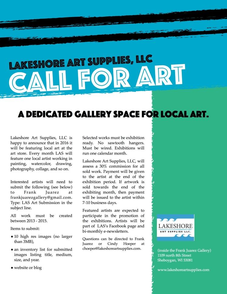 LAS Call for Art 2016