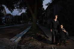 Neighborhood Series, Nichali and Marisola, Riverwest, 2015