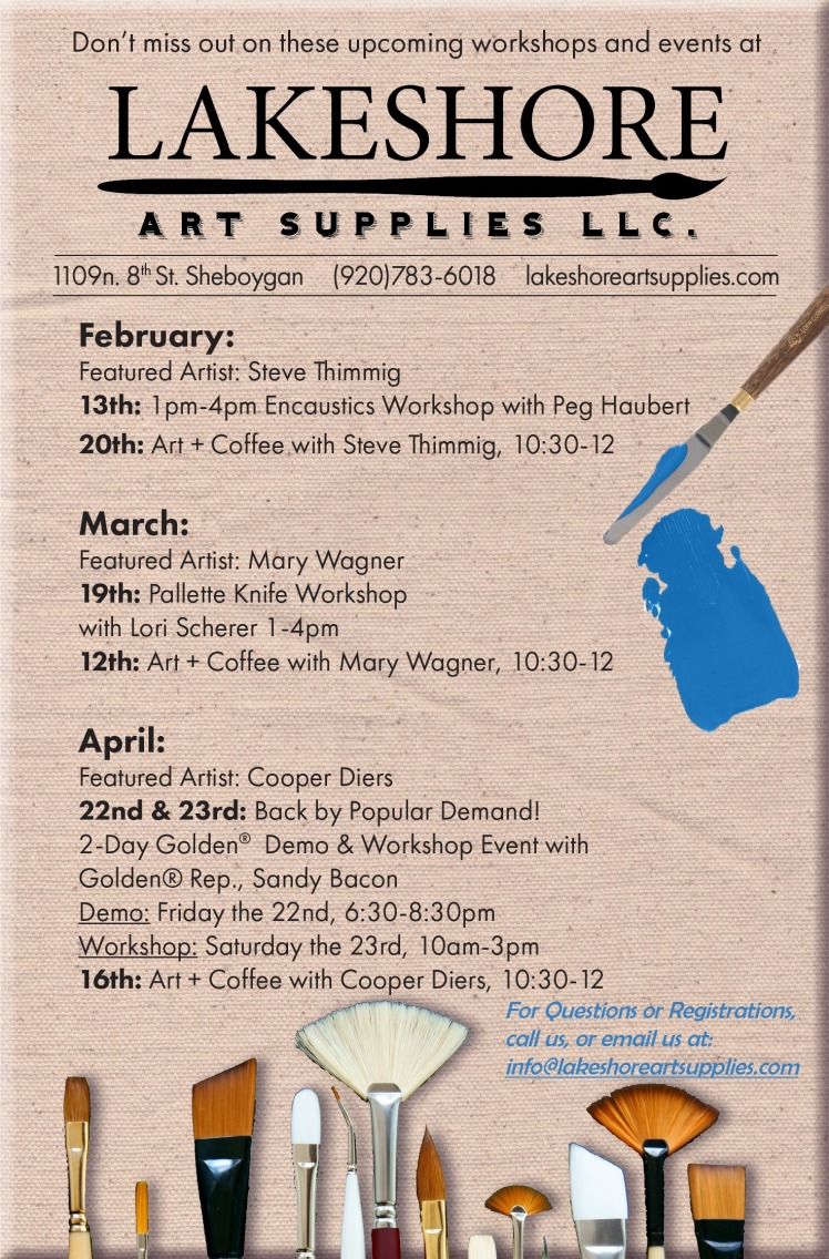LAS Spring 2016 Events Flier