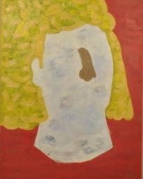 "Big Hair Betty, oil on canvas, 32""x24"", 2016"