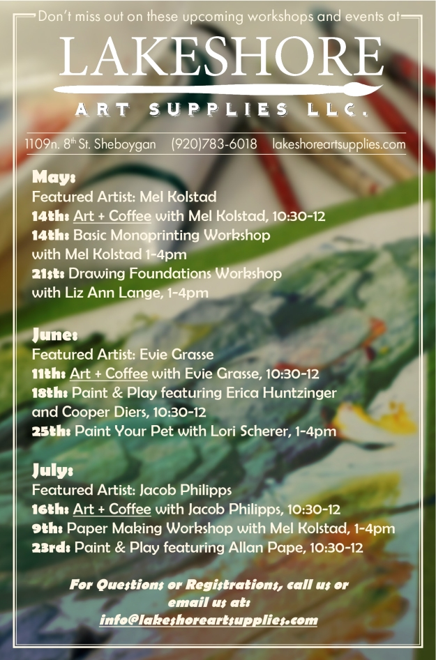 LAS Summer1 2016 Events Flier