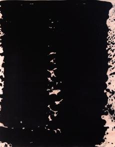 """Kakari, Acrylic on wood, 14 x 11 x 1.5"""", 2017"""