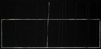 """The Garden, Acrylic on wood, 6 x 12 x 1.5"""", 2017"""
