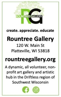 Rountree Gallery general ad vertical 2020